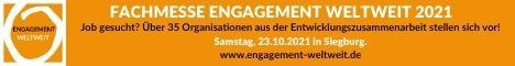 AKLHÜ Banner Engagement weltweit